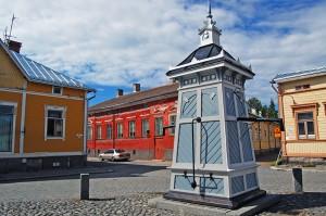 Die farbenfrohe Küstenstadt Rauma
